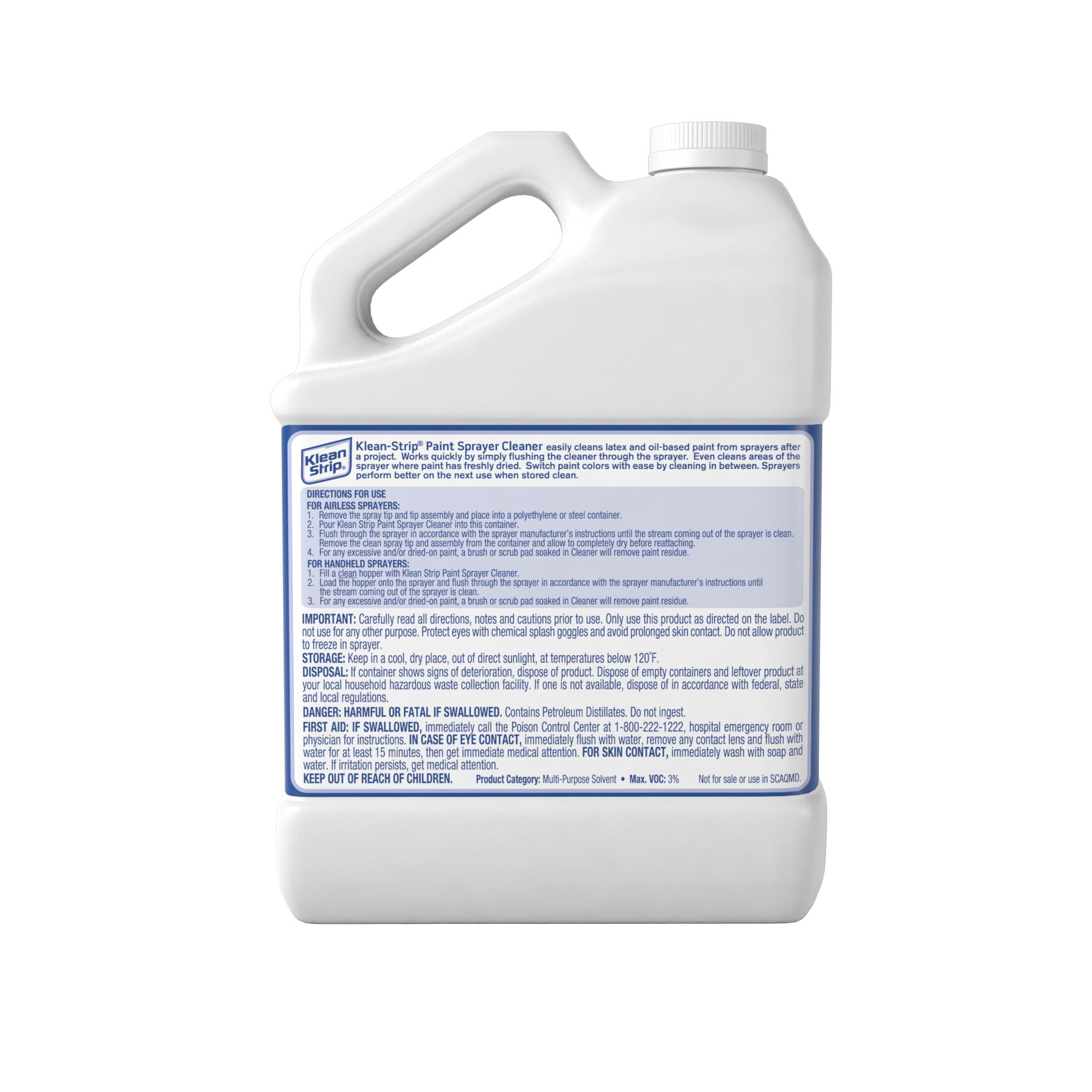 Paint Sprayer Cleaner