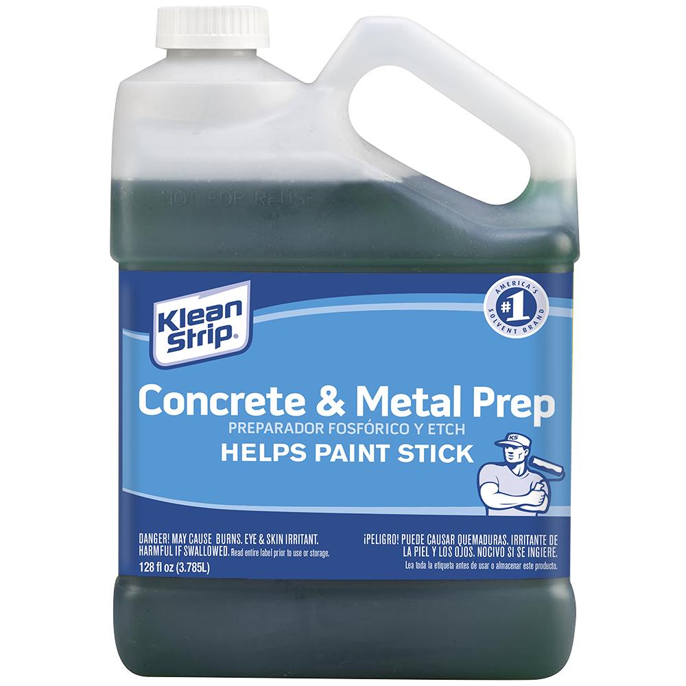 Concrete & Metal Prep