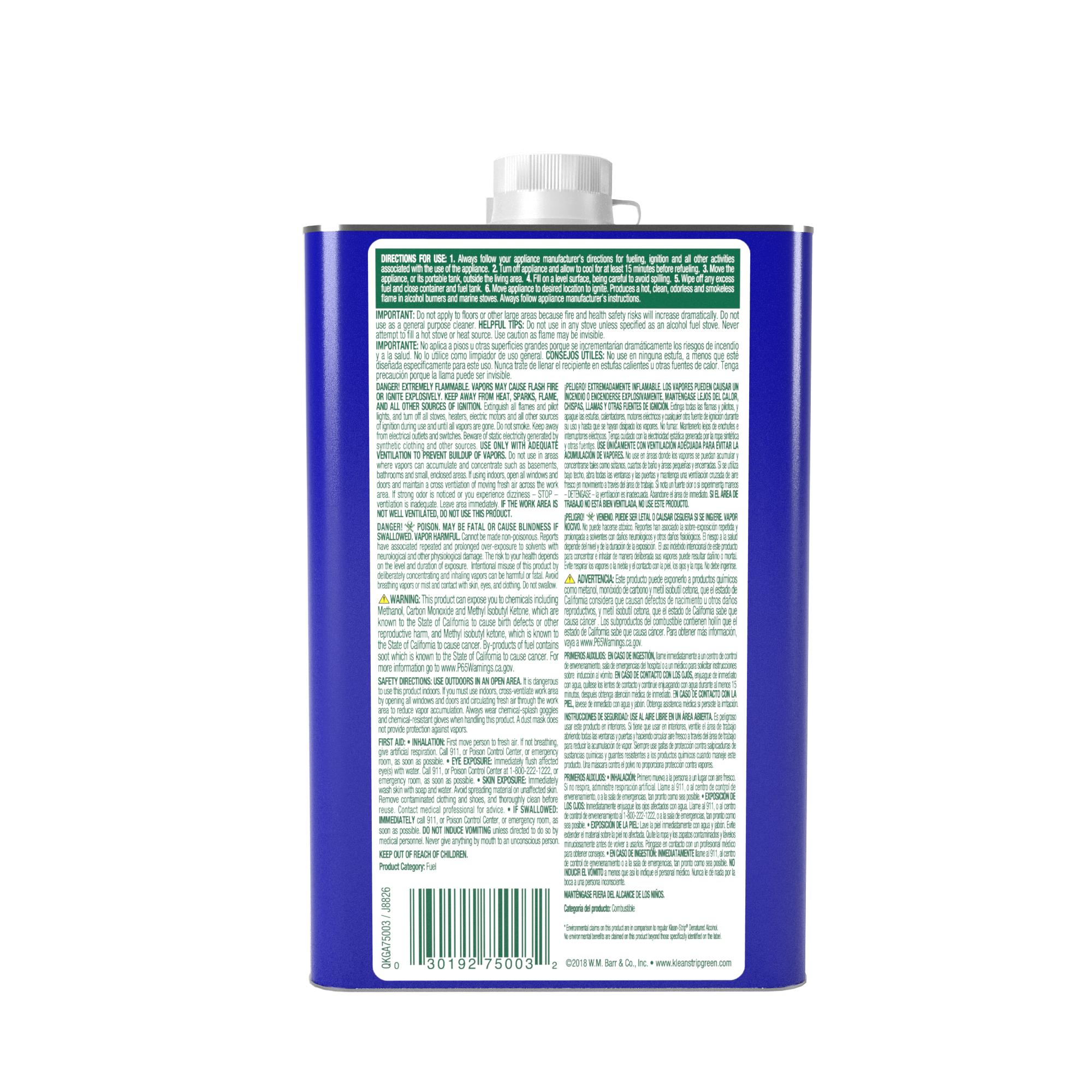 Klean-Strip® Green® Denatured Alcohol