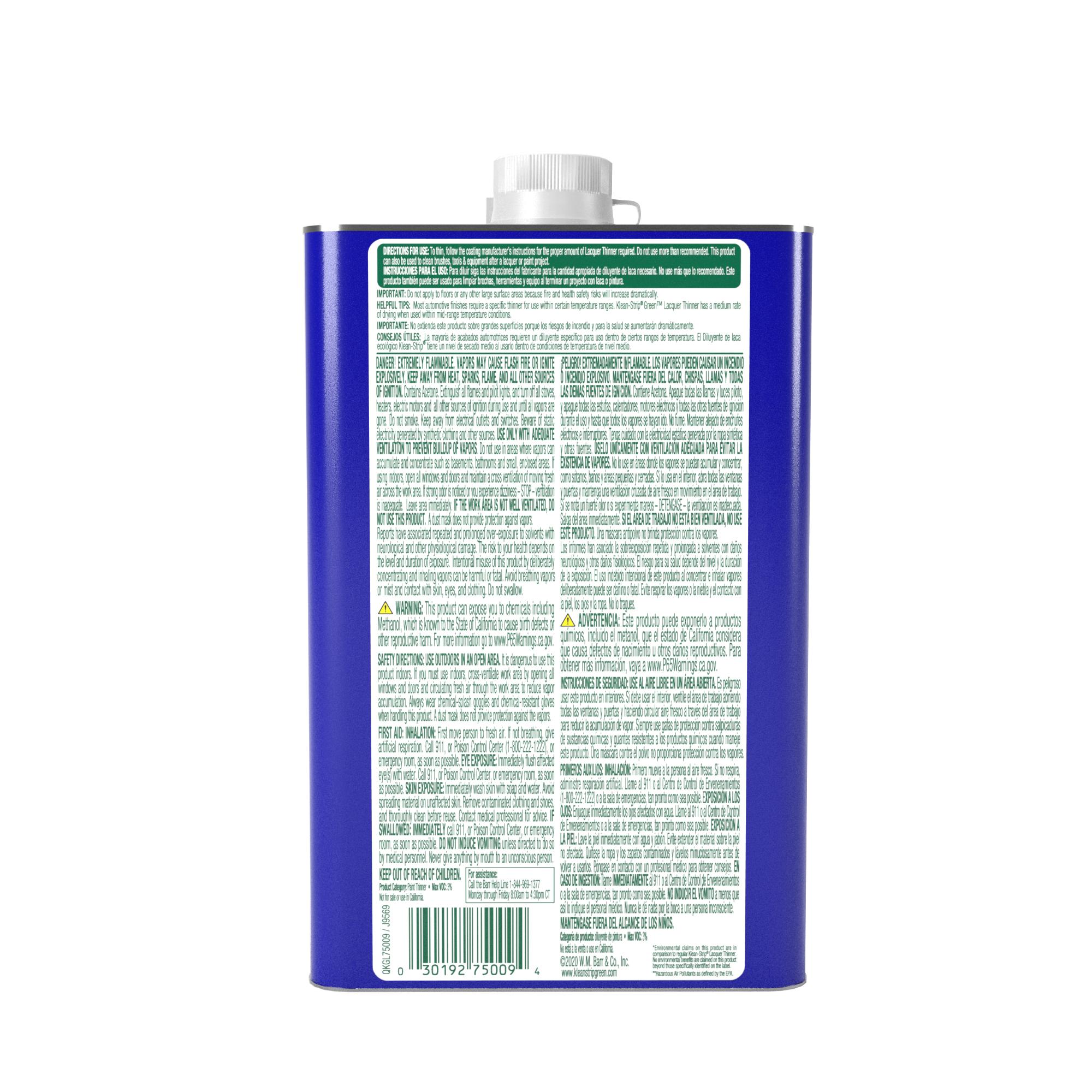 Klean-Strip® Green® Lacquer Thinner