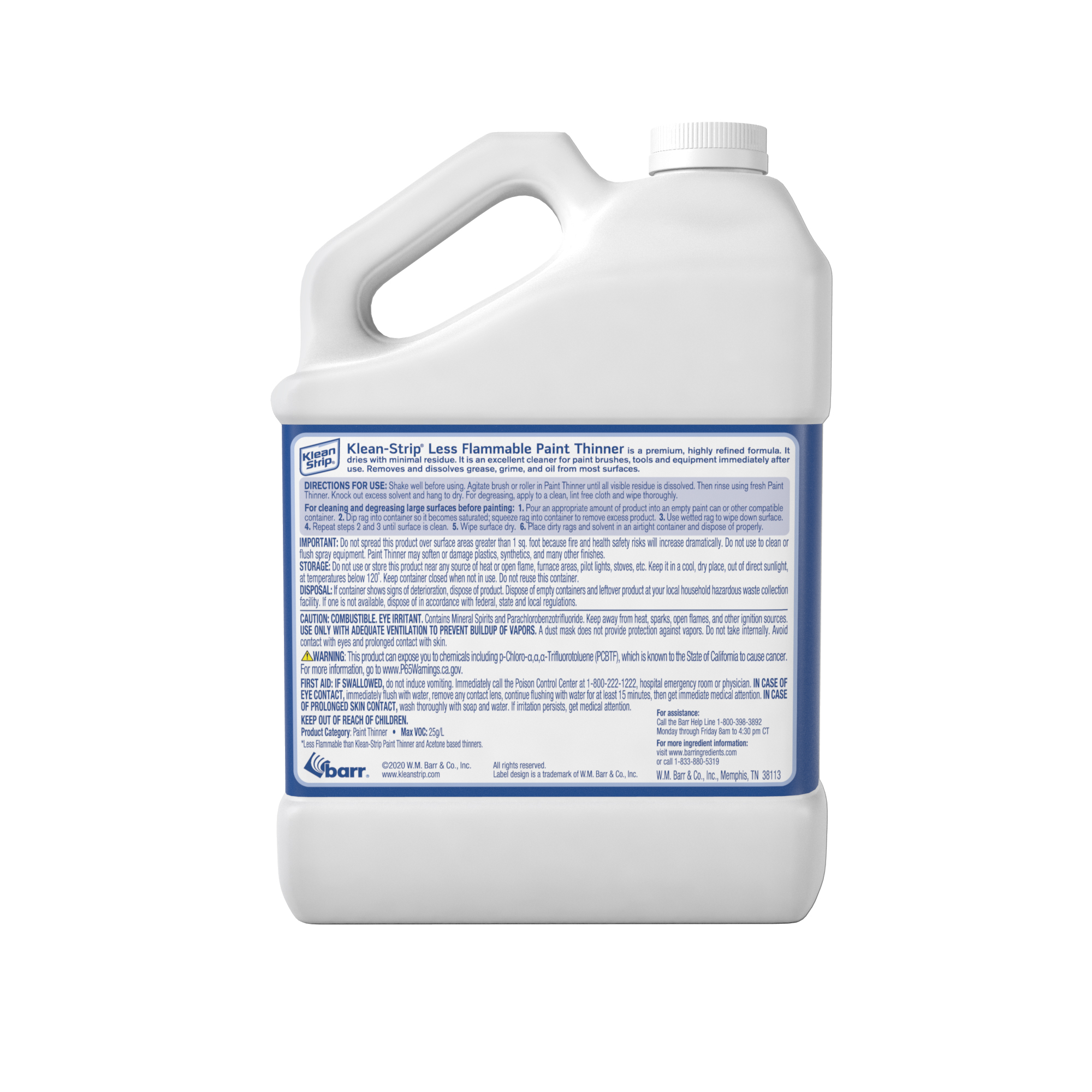 Less Flammable Paint Thinner SCAQMD